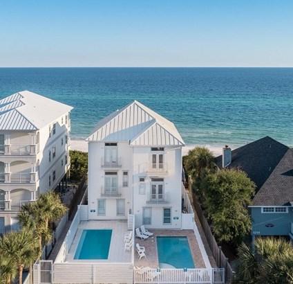 Beach House, Attached Single Unit - Santa Rosa Beach, FL