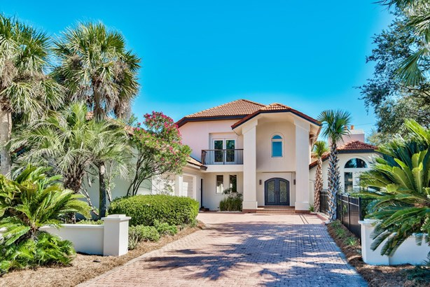 Mediterranean, Detached Single Family - Inlet Beach, FL (photo 1)