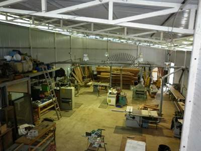 Industrial Shop with Office and Land (photo 2)
