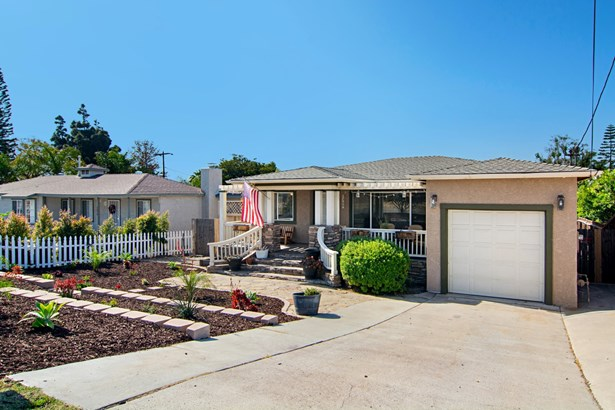 Detached, Monterey/Hacienda/Adobe - Lemon Grove, CA (photo 1)