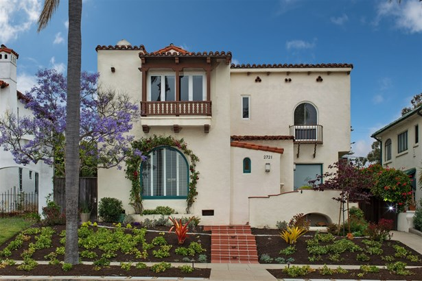 Detached, Mediterranean/Spanish - San Diego, CA (photo 2)
