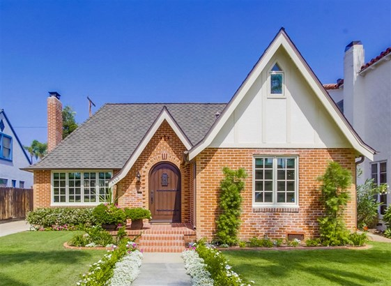 Tudor/French Normandy, Detached - San Diego, CA