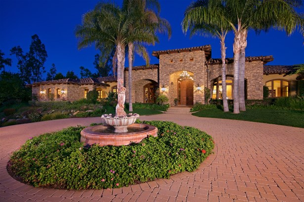 Detached, Mediterranean/Spanish - Rancho Santa Fe, CA (photo 1)