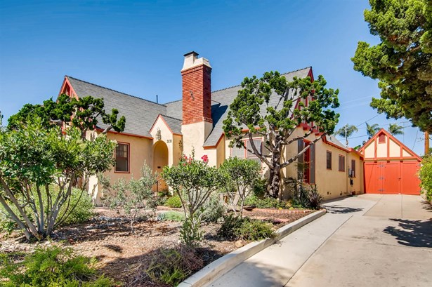 Tudor/French Normandy, Detached - San Diego, CA (photo 2)