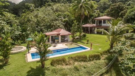 2 Acres - 3 Bedroom Ocean View Home Plus Pool And , Uvita - CRI (photo 1)