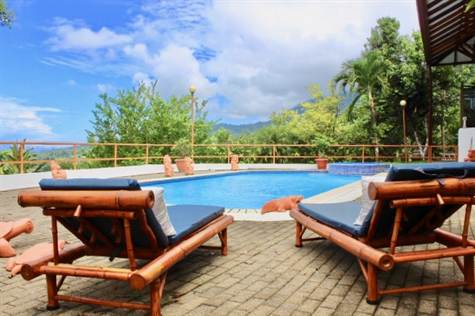 Ojochal Bali Inspired Ocean View Home With Pool On, Ojochal - CRI (photo 1)