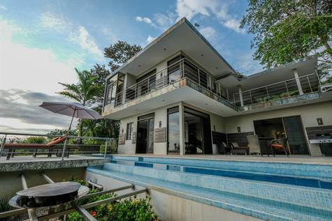 0.34 Acres €� 3 Bedroom Modern Tropical Ocean View , Uvita - CRI (photo 1)
