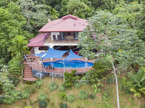 10 + Acres 4 Bedroom White Water Views In Dominica, Dominical - CRI (photo 1)