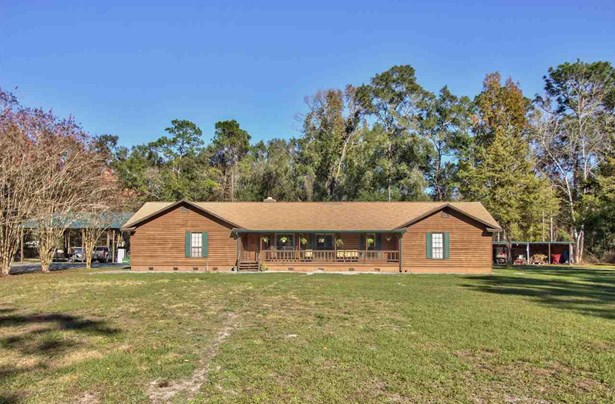 Detached Single Family, Traditional - CRAWFORDVILLE, FL