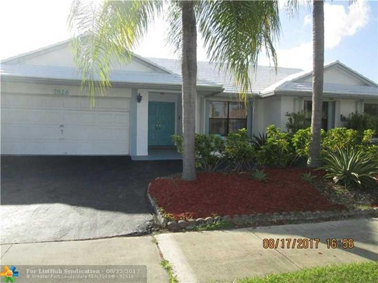 Pool Only, Single Family - Margate, FL (photo 1)