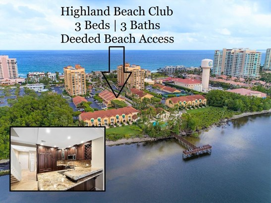 Condo/Coop - Highland Beach, FL