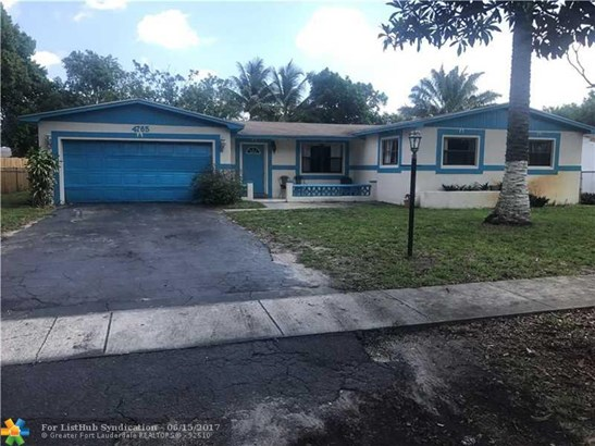No Pool/No Water, Single Family - Plantation, FL (photo 1)