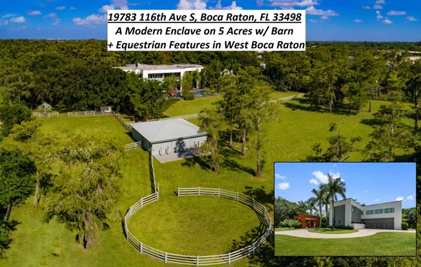 Single Family Detached, Contemporary,Multi-Level,Other Arch - Boca Raton, FL (photo 1)