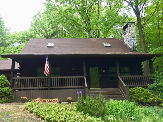 Single Family Residence, Log Home - Coloma, MI (photo 1)