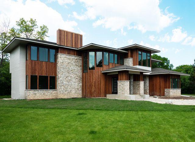 Contemporary, Detached Single - Northbrook, IL (photo 1)