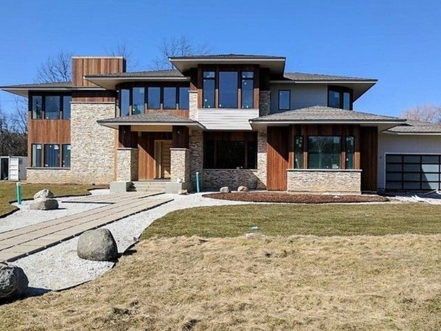 Contemporary, Detached Single - Northbrook, IL (photo 1)
