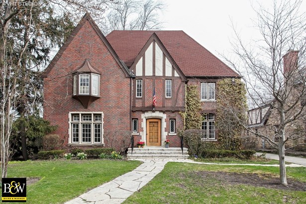 Tudor, Detached Single - Evanston, IL (photo 1)