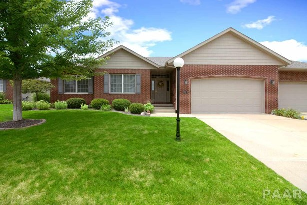 Attached Single Family, Ranch - Peoria, IL (photo 1)