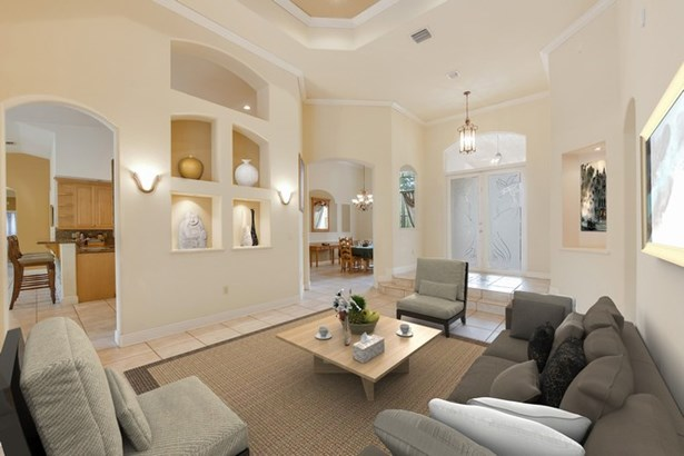 Living room virtually staged (photo 3)