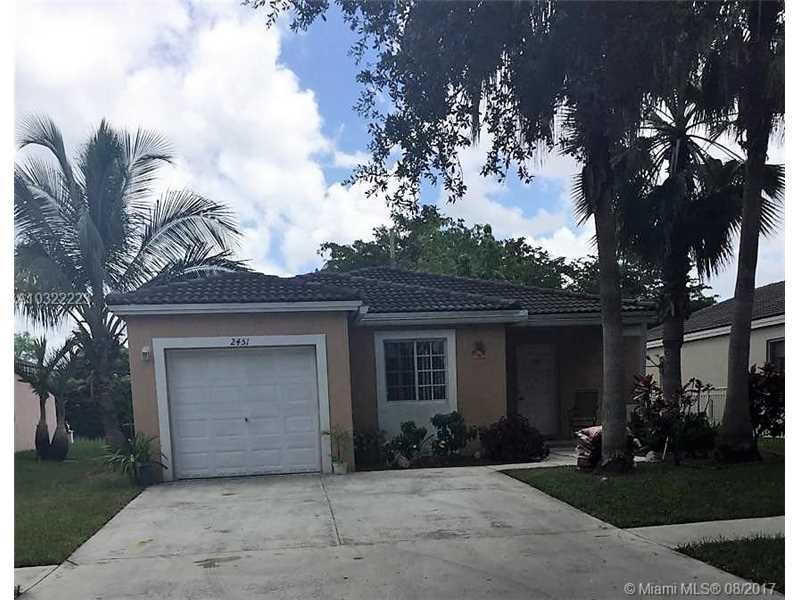 2451 Sw 103rd Way, Miramar, FL - USA (photo 1)
