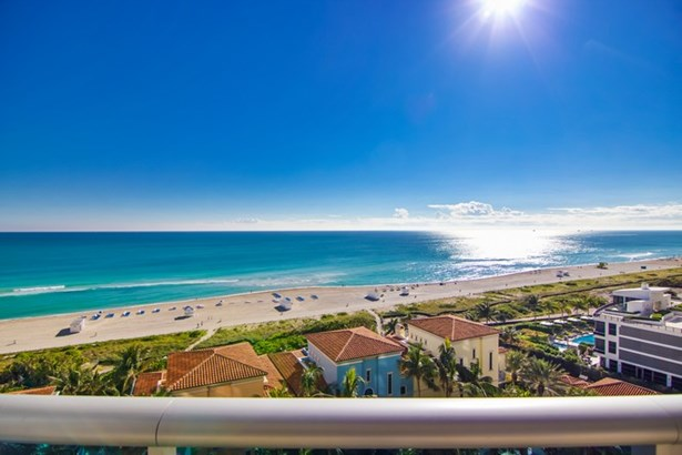 Direct Oceanfront View from Balcony of Unit (photo 2)
