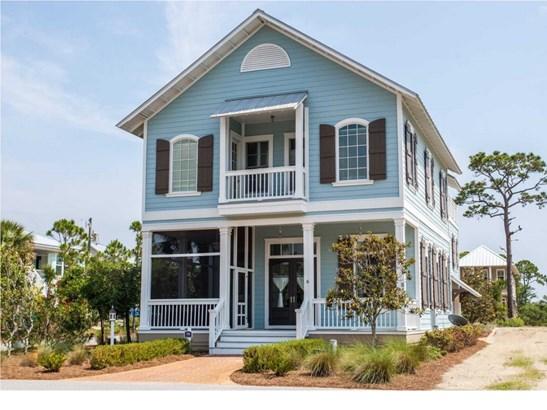 Florida Cottage, Detached Single Family - Cape San Blas, FL