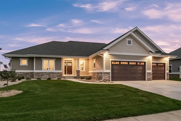 Ranch,Prairie/Craftsman, 1 story,Under construction - Waunakee, WI (photo 1)