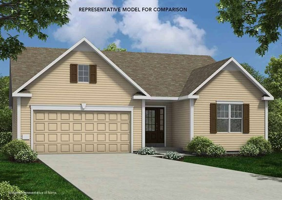Ranch, 1 story,Under construction - McFarland, WI (photo 1)