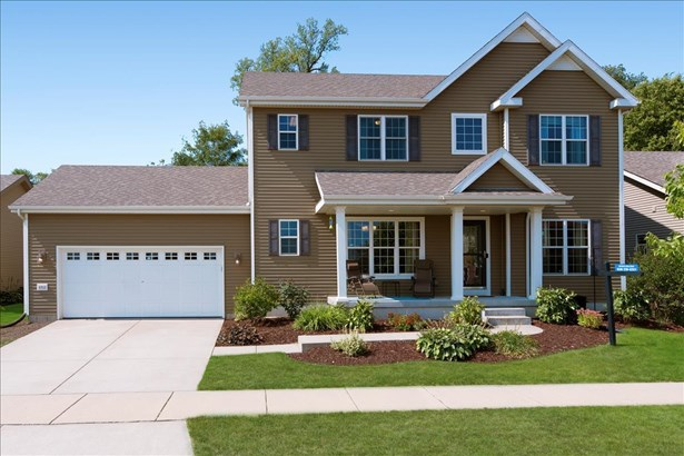 Contemporary, 2 story - Middleton, WI
