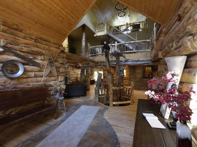 Contemporary,Log Home, 2 story - Eagle River, WI (photo 2)