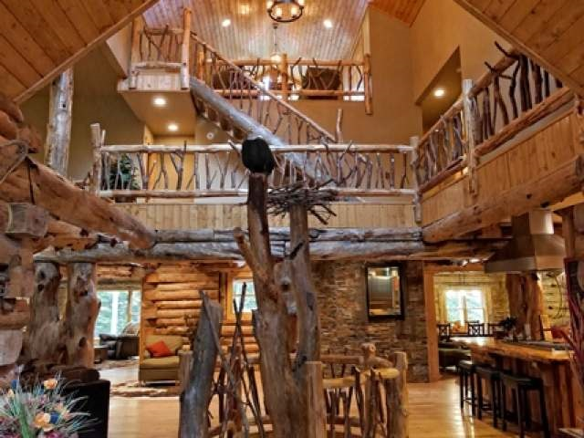 Contemporary,Log Home, 2 story - Eagle River, WI (photo 5)