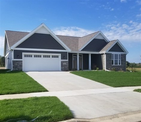 Ranch,Contemporary,Transitional, 1 story,Under construction - Middleton, WI (photo 1)