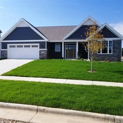 Ranch,Contemporary,Transitional, 1 story,Under construction - Middleton, WI (photo 2)