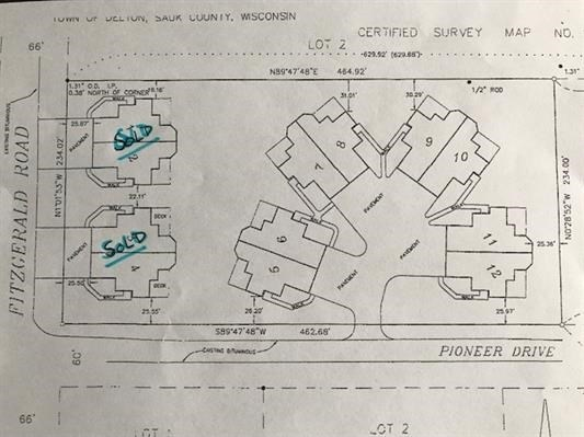 City,Duplex Lot,In Condo Plat - Wisconsin Dells, WI
