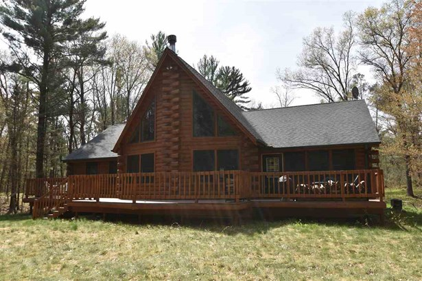 1 1/2 story, Log Home - Arkdale, WI (photo 1)