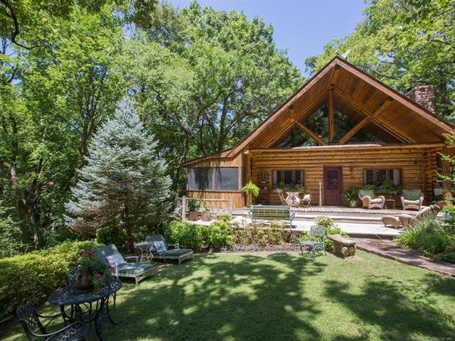 Log, House - Locust Grove, OK