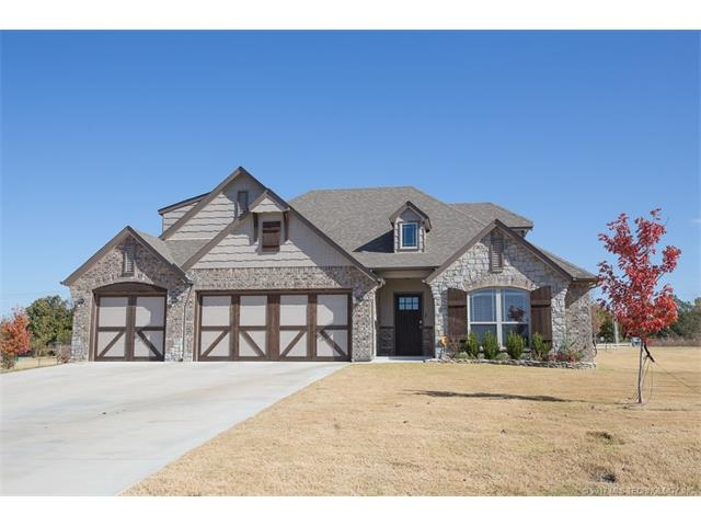 Country French, House - Sand Springs, OK (photo 1)