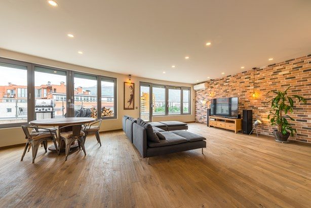 A Luxury Penthouse With Unique Panorama, Sofia - BGR (photo 1)