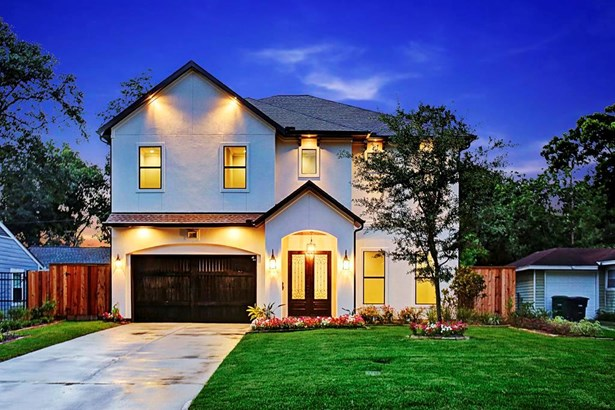 Stunning new construction in sought after Oak Forest on a quiet tree-lined Street. (photo 1)