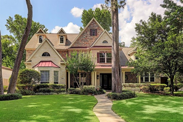 Gorgeous 5 bed 4.5 bath home zoned to Hunters Creek Elementary. Master Suite plus guest suite are downstairs. (photo 1)