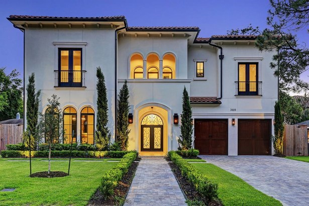 A newly constructed Mediterranean Masterpiece. A well-balanced mix of timeless features and modern enhancements.