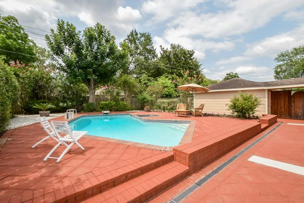 Backyard with Large Pool with Spa and Diving Board. Imagine Relaxing in This Gorgeous Pool on a Hot Summer Day! (photo 2)