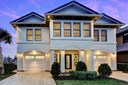 Contemporary style Lake Conroe oasis in the distinguished Bella Vita gated community. Exquisite home with modern finishes throughout. (photo 1)