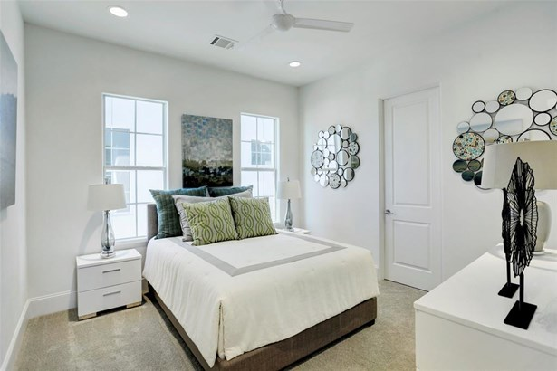 Photos of C Plan Model. Secondary bedroom located on the 3rd floor with ensuite bathroom and walk-in closet. (photo 4)