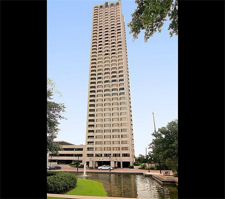 The Spires is a top-notch high rise in the Med Center and Museum area of Houston. (photo 1)