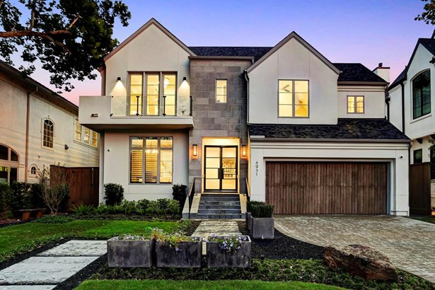 Designed and built by award winning builder, Frankel Building Group and voted Best Design, Best Exterior, Best Kitchen in the 2016 Bellaire Showcase! (photo 1)