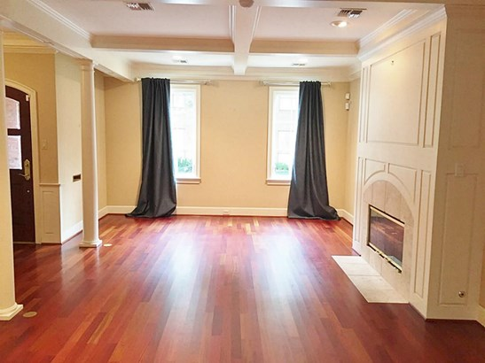 Large Living Room with fireplace. Two seating areas easily accomodated here. (photo 2)