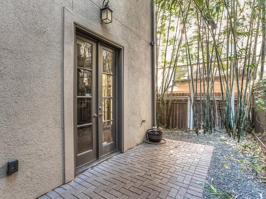 This convenient outdoor space just off the study provides a fresh setting to relax on your own private patio. (photo 5)