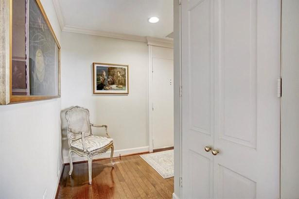 On the right side of the Entry is a large storage closet. (photo 4)