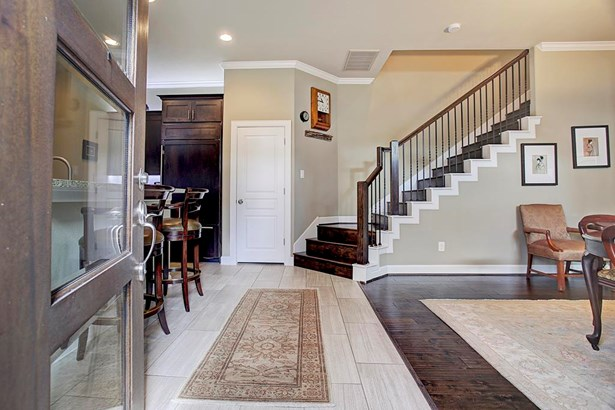 ...an open floor plan and custom touches that combine to make this home nearly perfect. (photo 3)